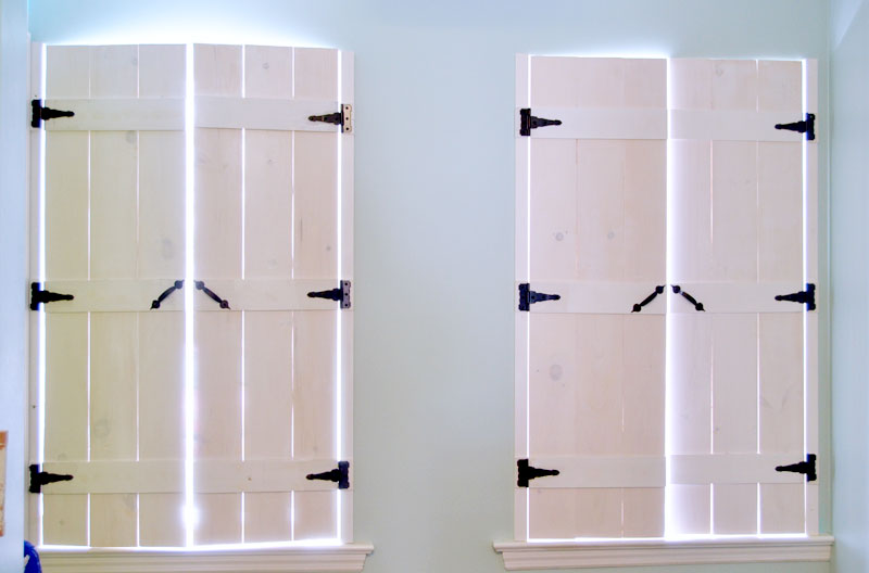 How to Make Indoor Shutters - Create and Babb