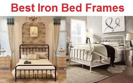 Top 15 Best Iron Bed Frames in 2020 - Complete Gui