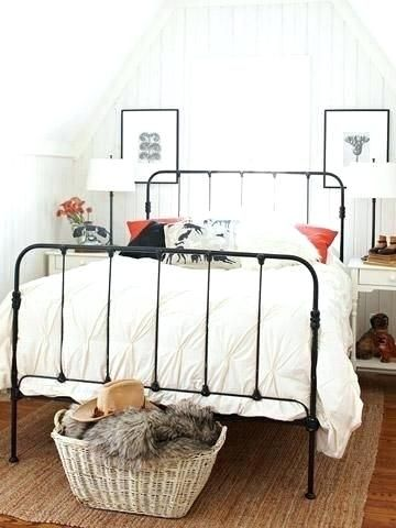 iron rod bed best wrought iron beds ideas on wrought iron with .