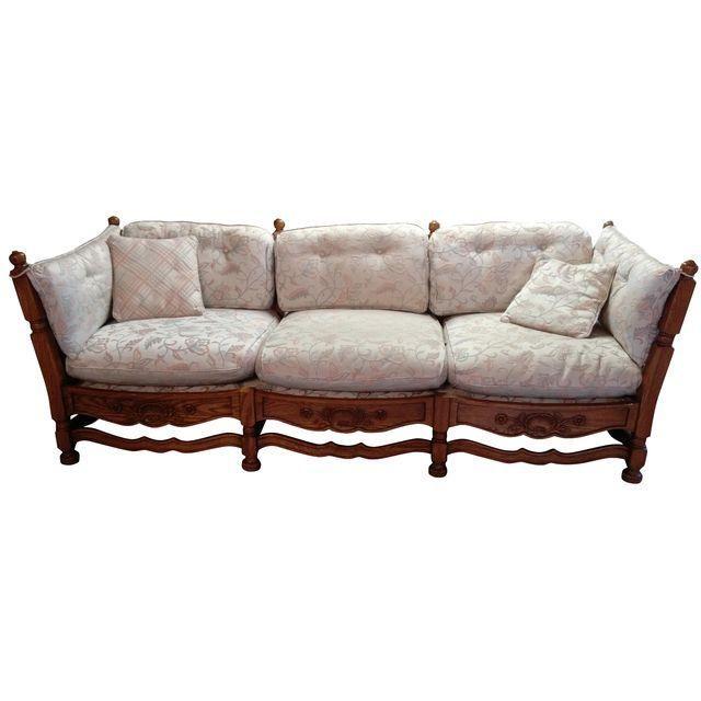 Image of 1930s Jamestown Lounge Feudal Oak Sofa | Oak sofa, Lounge .