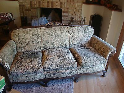 Vintage Sofa Couch circa 1930's | Vintage sofa, Couch, 1920s furnitu