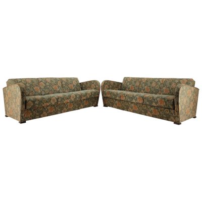 Art Deco 3-Seat Sofas by Jindrich Halabala, 1930s, Set of 2 for .