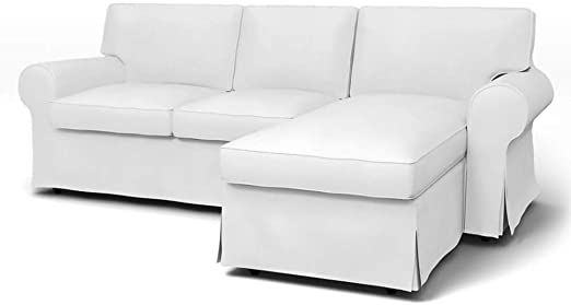Amazon.com: mastersofcovers Ektorp Loveseat (2 Seat) with Chaise .