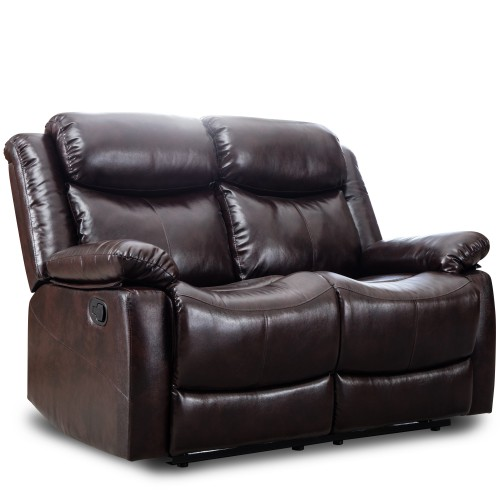ORIS FUR. PU Leather Sectional Reclining Sofa Classic Recliner .