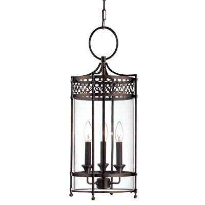 Darby Home Co Emelia 3 - Light Lantern Cylinder Pendant | Wayfa