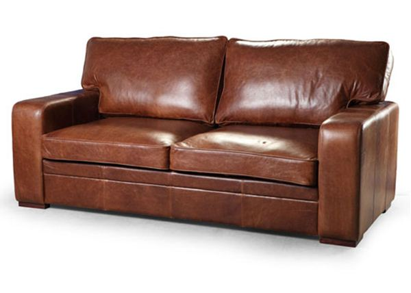 Miami 3 Seater Leather Sofa. Quality Oak furniture from The .