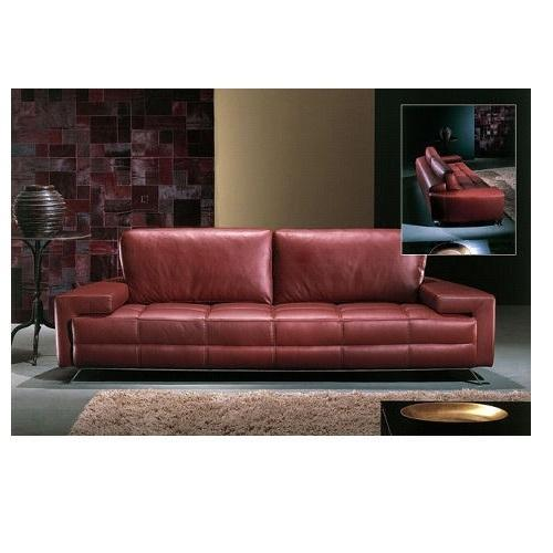 Modern Maroon Leather Sofa Set, For Home, Rs 120000 /piece Bab .