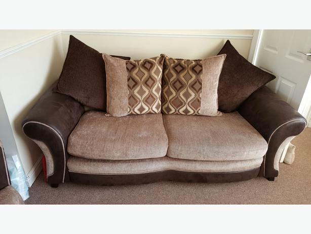 3 Seater Sofa And Cuddle Cha