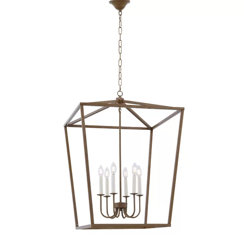 Tanguay 4 - Light Lantern Square Chandelier in 2020 | Lantern .