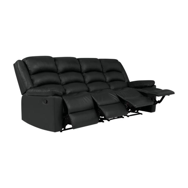 ProLounger ProLounger 101 in. Black Polyester 4-Seater Lawson .