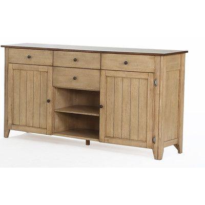 Adelbert Credenza | Sideboard, Sideboard buffet, Furniture grade .