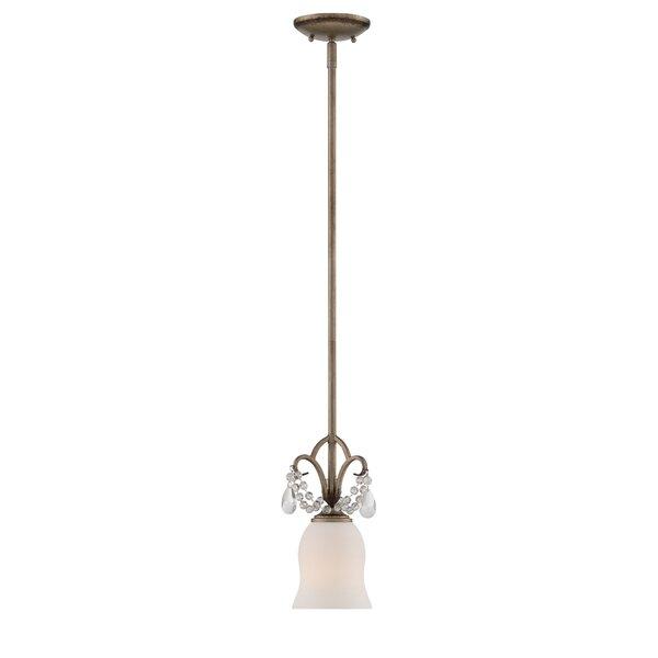 Ophelia & Co. Alden 1-Light Single Bell Pendant   Wayfa