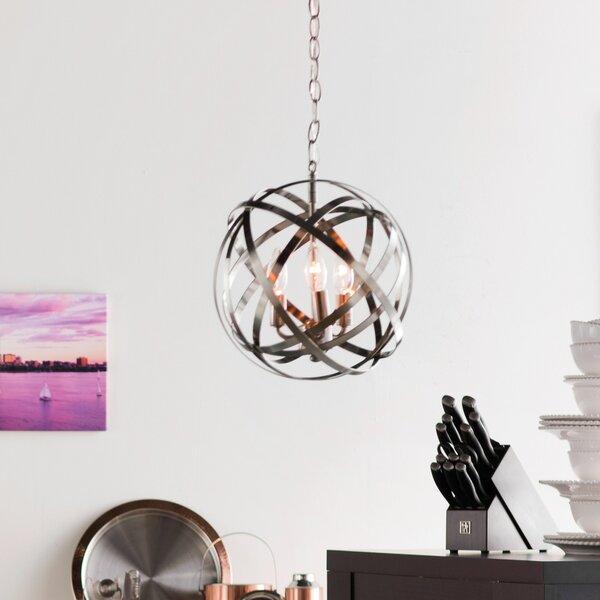 Laurel Foundry Modern Farmhouse Kierra 3-Light Single Globe .