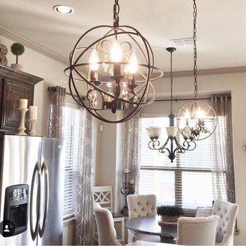 Alden 6 Light Globe Chandeliers