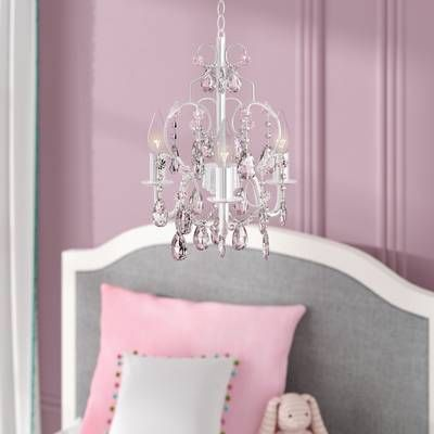 Aldora 4-Light Candle Style Chandelier | Candle style chandelier .