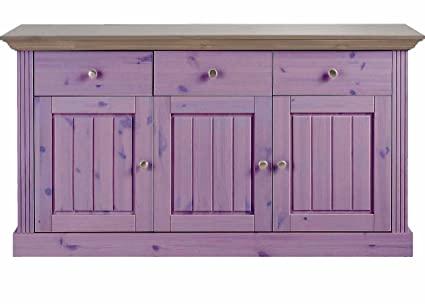 Aprodz Solid Wood Alegre Sideboard Storage Cabinet for Living Room .