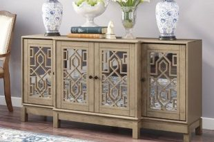 10 Gorgeous Mirrored Buffet Tables and Sideboards - Trendy Home .