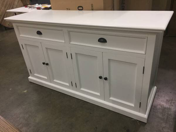 Amityville Wood Sideboard White for Sale in Indianapolis, IN - Offer