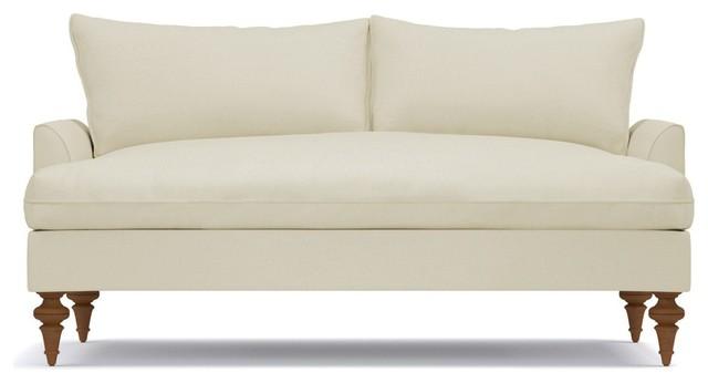 Saxon Apartment Size Sofa - Traditional - Sofas - by Apt