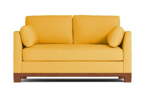 Desoto Apartment Size Sofa - USA Made Modern Small Space Sofas | Apt