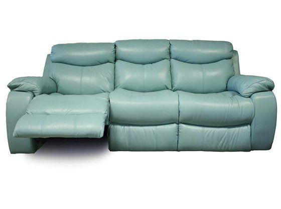 Kane's Furniture - Delaney Aqua Power Reclining Sofa | Reclining .