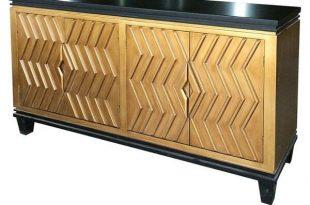 Armelle Sideboard in 2020 | Black sideboard, Art deco sideboard .