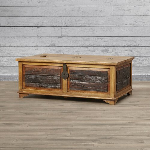 Loon Peak® Arminta Blanket Box / Trunk Coffee Table & Reviews .