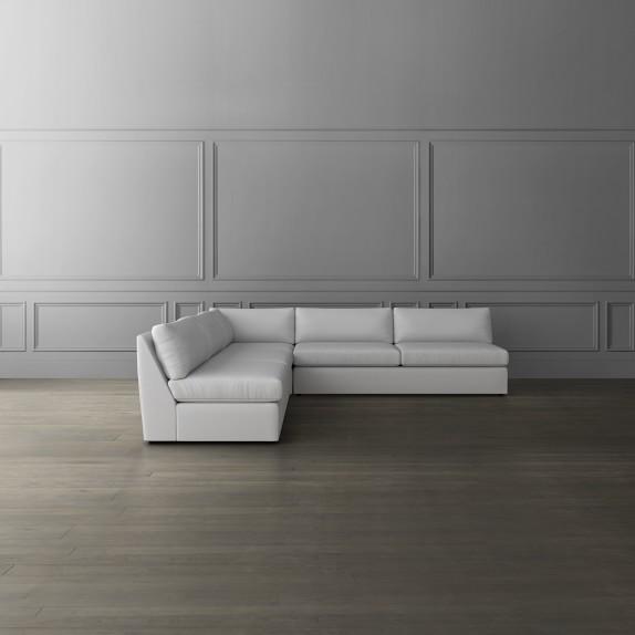 Armless Sectional Sofas