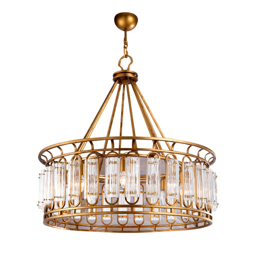 Art Deco Antique Gold Chandelier #2 Stillux - Arteme