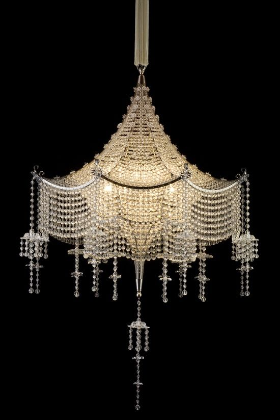 Force of Nature: Fast Outdoor Lifestyle | Art deco chandelier .