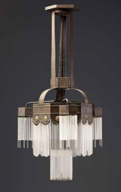 Dorotheum - List Lots Detail | Art deco chandelier, Art deco .