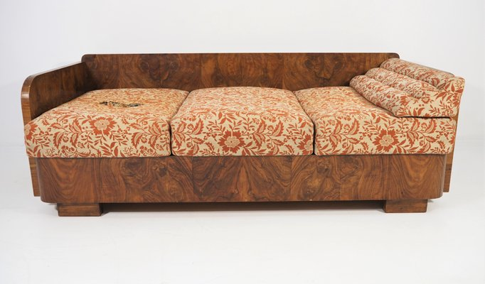 Art Deco Sofa, 1940s for sale at Pamo