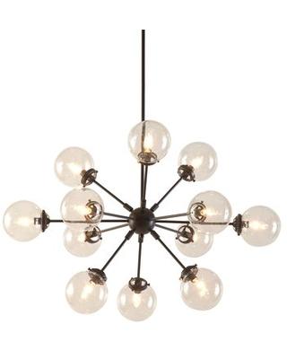 Asher 12 Light Sputnik Chandeliers