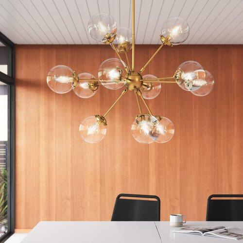 AllModern Asher 12-Light Sputnik Sphere Chandelier & Reviews | Wayfa