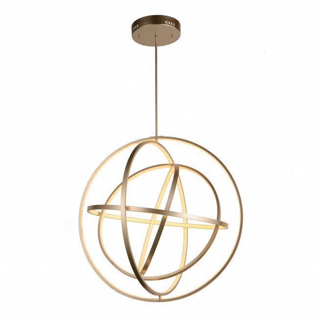 w83475mn31 Atom Light Matte Nickel Finish LED Chandeli