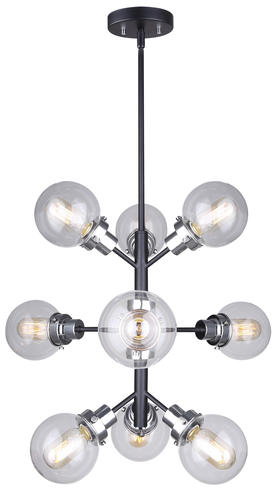 Patriot Lighting® Atom 9-Light Chandelier at Menards
