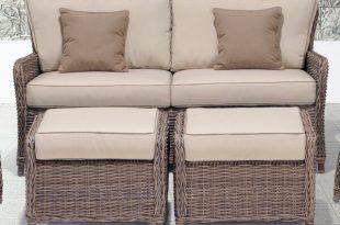 Wildon Home® Avadi Outdoor Sofa & Ottomans 3 Piece Set & Reviews .