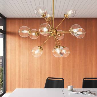 Wade Logan® Bacchus 12 - Light Sputnik Sphere Chandelier & Reviews .