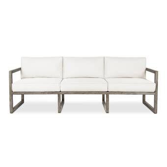 Baltic Patio Sofa with Cushions | Outdoor sofa, Patio sofa, Lounge .