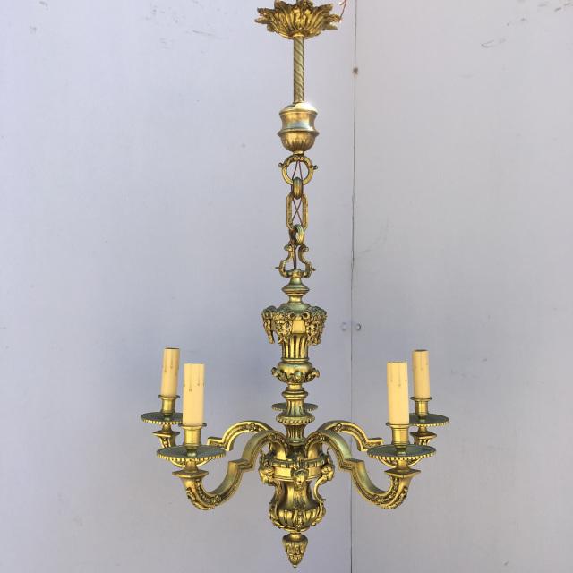 Solid Brass Baroque Chandeli