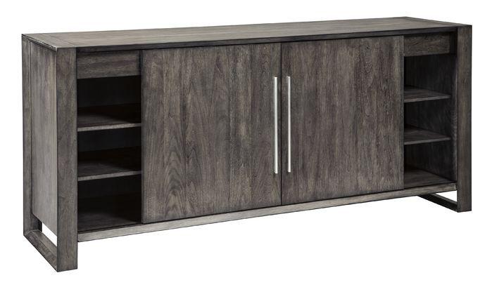 Barr Credenza | Dining room server, Adjustable shelving, Creden
