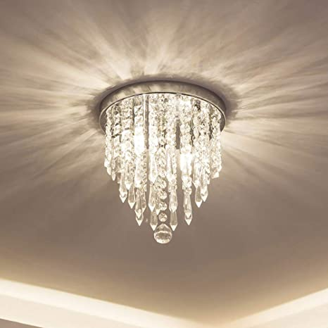 lifeholder Mini Chandelier, Crystal Chandelier Lighting, 2 Lights .