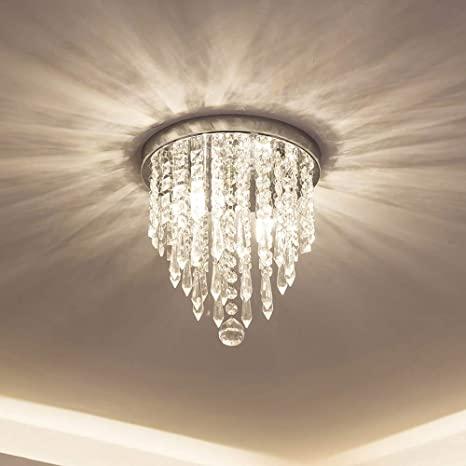 lifeholder Mini Chandelier, Crystal Chandelier Lighting, 2 Lights .
