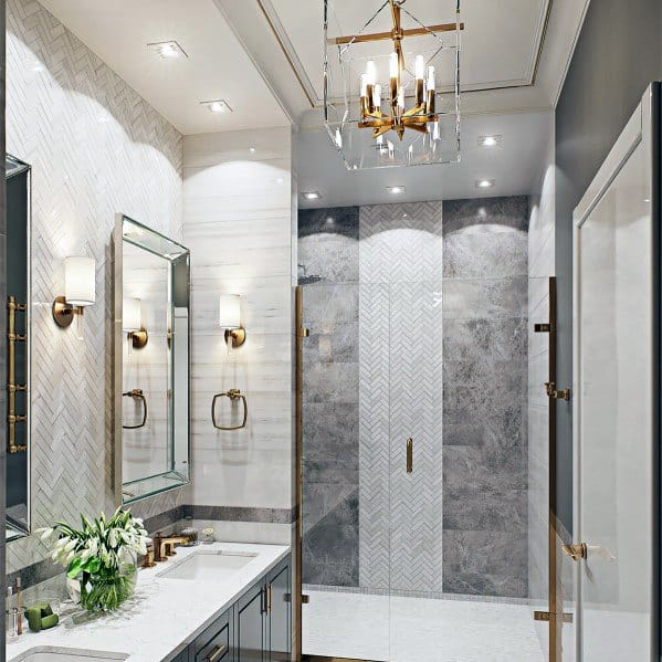 Top 50 Best Bathroom Lighting Ideas - Interior Light Fixtur