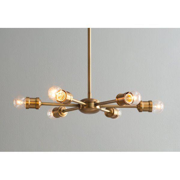 Bautista 6 Light Sputnik Chandeliers
