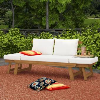 Beal Patio Daybed with Cushions & Reviews | Birch La