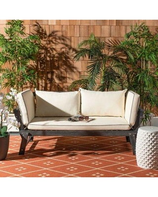 New Deal on Birch Lane™ Beal Patio Daybed with Cushions CM34701 .