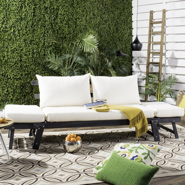 Birch Lane™ Heritage Beal Patio Daybed with Cushions & Reviews .