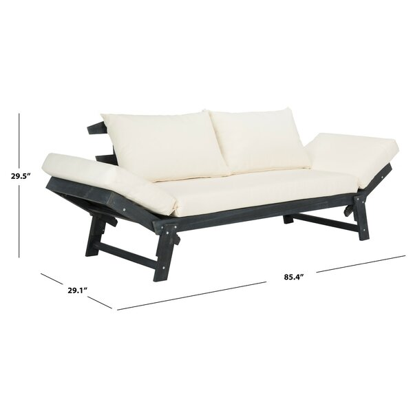 Beal Patio Daybed with Cushions & Reviews | AllMode