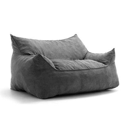 🔆 Hot Sale Big Joe Imperial Bean Bag Sofa Upholstery: Cement low .